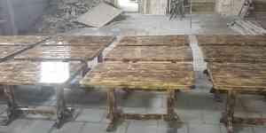 Деревянный стол под старину