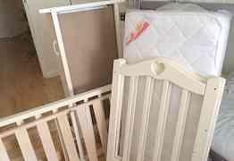 Новая детская кроватка Ведрусс Лана 3
