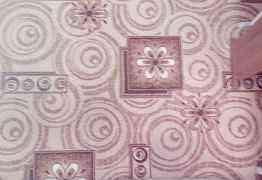 Палас коричнево-бежевой расцветки