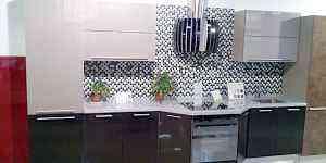 Кухня, пластик, эмаль, кухонный гарнитур. Образец