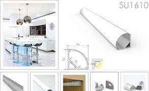 Профиль для светодиодной ленты угловой