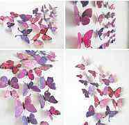 Интерьерные бабочки стикеры