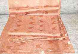 Полотенце новое, шторы б/у