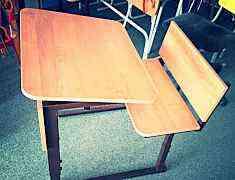 Парта и стул и парта моноблок
