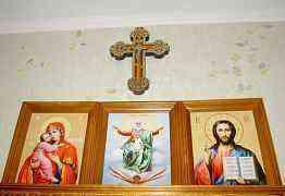 Домашний новый православный иконостас