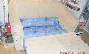 Диван -кровать 140х120х92 с ящиком для белья
