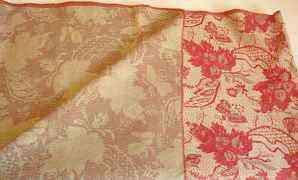 Гобелен орнаментом кленовых листьев 376х132 новое