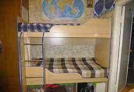 Двуъхярусная кровать