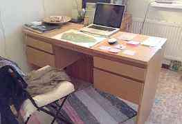 Письменный Новый стол Икея с зеркалом