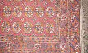 Туркменский ковер ручной работы