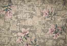 Накидка на диван с бахромой