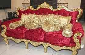Комплект мягкой мебели. Новый. Италия
