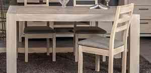 Стол раздвижной из массива натурального дерева