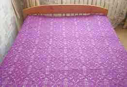 Покрывало ручной работы для двухспальной кровати