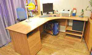 Стол письменный угловой большой