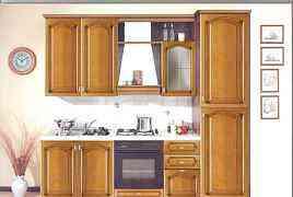 Кухня массив Италия, выставочный образ, -50 проц