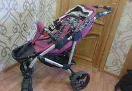 Детская кровать и коляска