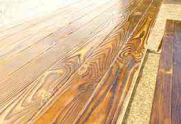 Стол + 2 лавки дерево массив береза