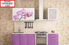 Новые Кухни с фотопечатью 1.6м(глянец)