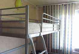 Кровать чердак с матрасом ikea