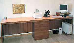 Офисные столы, шкафы, тумбы на заказ
