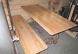 Комплект мебели ленге стол+ две лавки