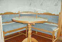 Столы, стулья, табуреты, кухонные уголки из дуба