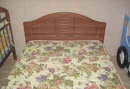 Кровать мдф полутороспальная