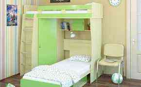 Кровать-чердак и Доп Кровать+ матрац