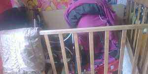 Детский кровать с рабочим местом