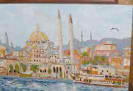"""Картина """"Стамбул"""". Холст/масло"""