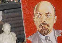 Картина В. И. Ленин Холст/масло