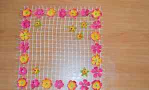 Салфетка плетеная