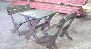 Лавочки-стол