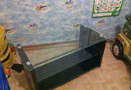 Тумба стекленная под телевизор