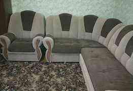 Диван. Угловой+ кресло