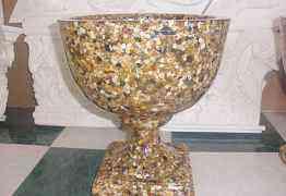 Вазоны из полимерного камня