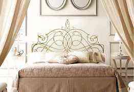 Двухспальная кованная кровать