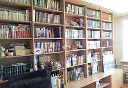 Стенка/стеллаж для книг в гостиную