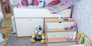 детскую кровать - чердак