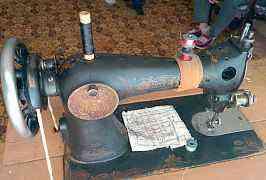 швейную машину Wettina 19 века
