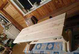 Скамейки для бани и сауны