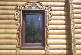 Изготовлю резные деревянные наличники