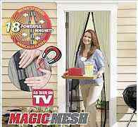 Москитная сетка на магнитах magic mesh (меджик меш