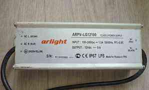 Блок питания Arlight arpv-LG12100 светод.2шт