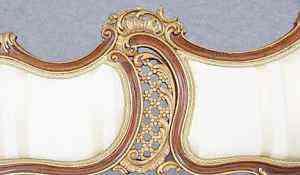 Антикварный гарнитур в стиле рококо