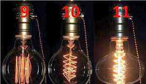 Ретро лампочки Эдисона (11 видов) + патроны