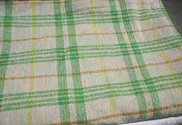 Одеяло Зелёное шерсть. (полуторное) СССР