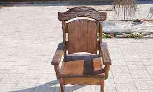 Стул кресло под старину