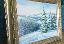 Картина маслом на холсте, 40x50